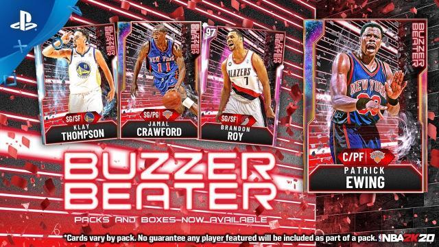 NBA 2K20 - MyTEAM: Buzzer Beater #4   PS4