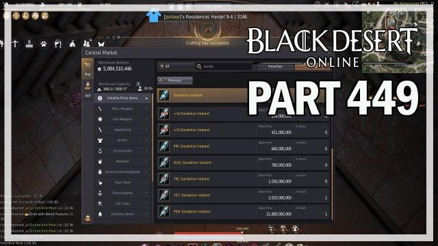 Black Desert Online - Dark Knight Let's Play Part 449 - Window Shopping