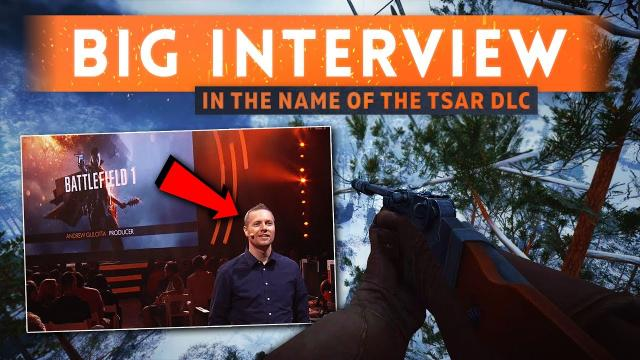 ► 11 WEAPONS CONFIRMED + PROGRESSION INFO! - Battlefield 1 In The Name Of The Tsar (DICE Interview)
