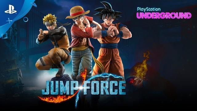 Jump Force Gameplay - PlayStation Underground