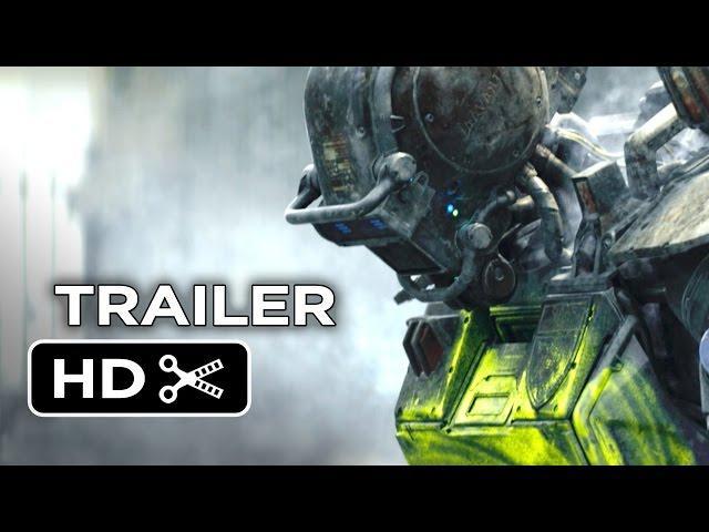 Chappie Official Trailer #2 (2015) - Hugh Jackman, Sigourney Weaver Robot Movie HD