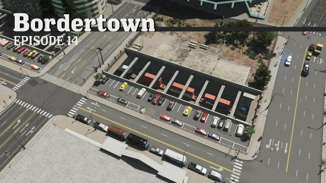 Downtown Freight Line - Cities Skylines: Bordertown - EP14 -