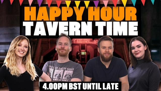 Team Eurogamer's Happy Hour Tavern Time - THE AFTERLIFE CLUB, SPACE STATION OMEGA