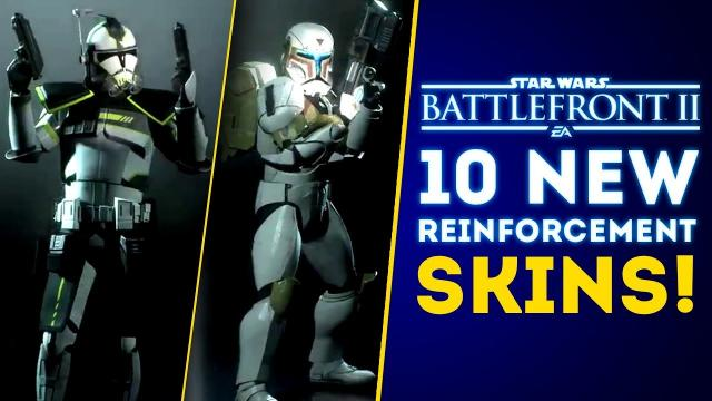 10 New Reinforcement Skins Coming THIS Week! Rise of Skywalker DLC Update! - Star Wars Battlefront 2