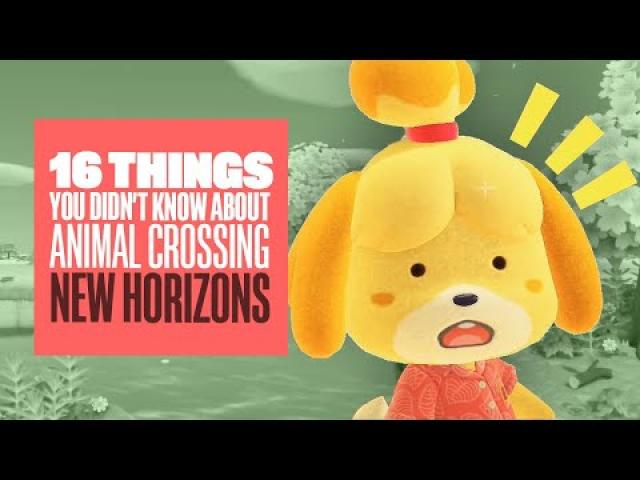 16 Things You Didn't Know About Animal Crossing New Horizons (Even If You Played It)