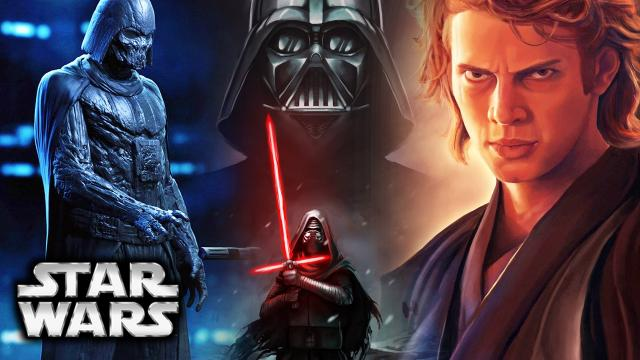 Star Wars Episode 8: The Last Jedi - How Darth Vader And Anakin Will Appear To Kylo Ren (Theory)