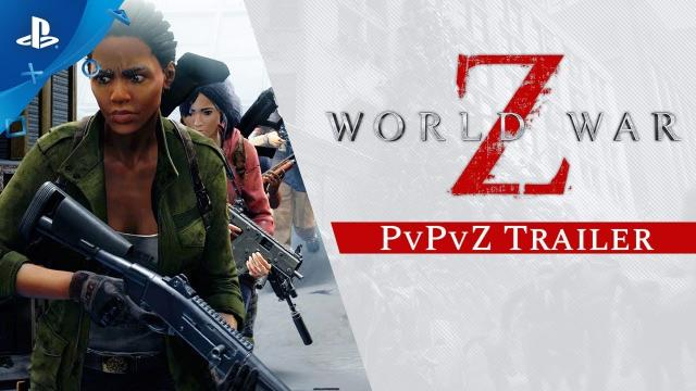 World War Z - Players vs Players vs Zombies | PS4