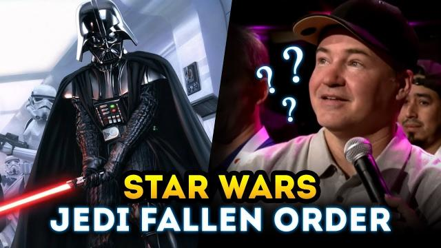 Why Didn't EA Show Star Wars Jedi Fallen Order at EA Play? (New Star Wars Game 2018)