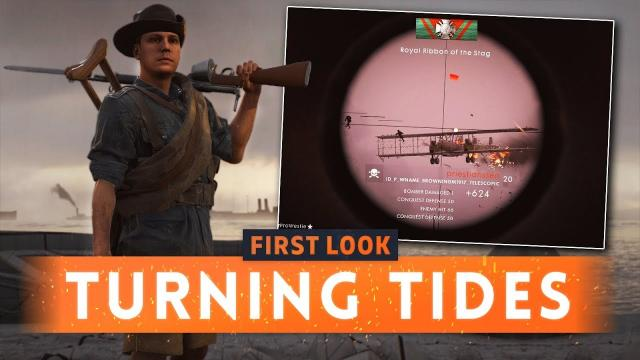 ► 2 NEW MAPS + 6 NEW WEAPONS REVEALED! - Battlefield 1 Turning Tides DLC (Cape Helles & Achi Baba)