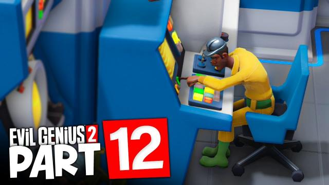 Network UPGRADES!   Evil Genius 2: World Domination (#12)