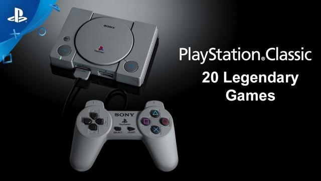 PlayStation Classic - 20 Legendary Games