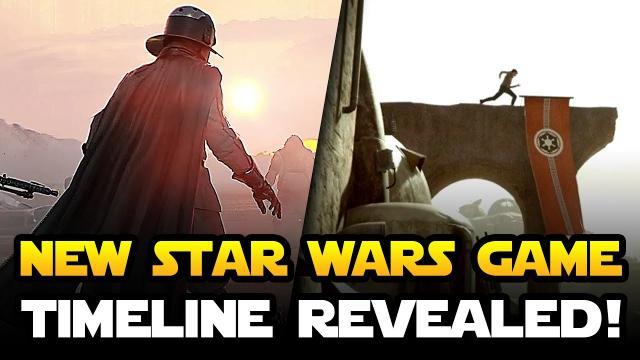 NEW STAR WARS SINGLE PLAYER GAME - Timeline Officially Revealed! EA Visceral Games Trailer Soon?
