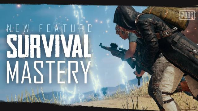 PUBG - New Feature - Survival Mastery
