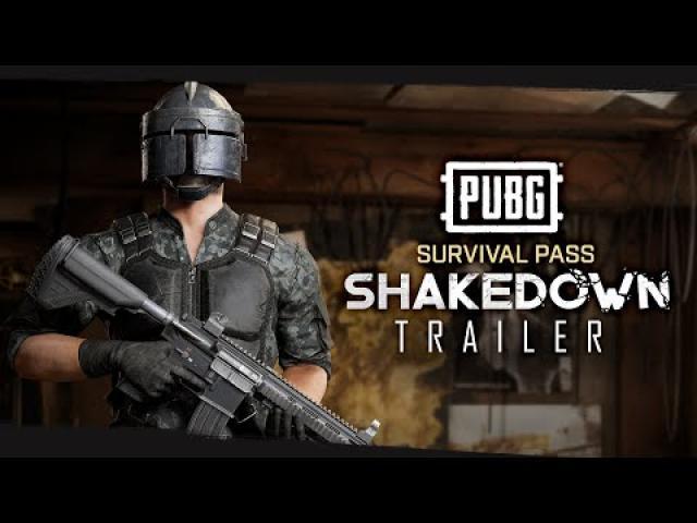 PUBG - Survivor Pass SHAKEDOWN Trailer