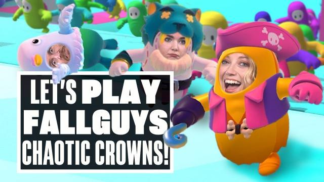 Let's Play Fall Guys: Ultimate Knockout - TURN THAT CROWN UPSIDE DOWN!
