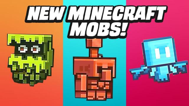 3 New Minecraft Mobs Revealed For Fan Vote   GameSpot News