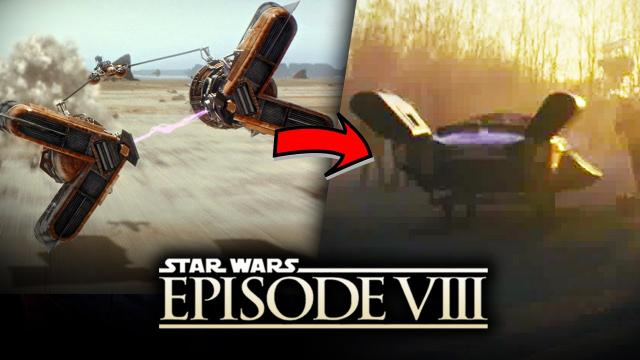 Star Wars Episode 8: The Last Jedi - Pod Racing Returns at Canto Bight! The Casino World!