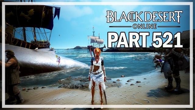 Black Desert Online - Dark Knight Let's Play Part 521 - Port Epheria