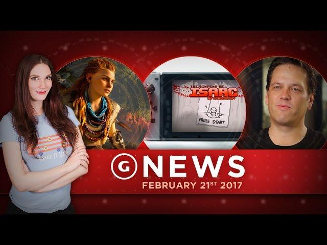 Horizon Zero Dawn Day One Patch Info & Switch Loses Launch Title! - GS Daily News