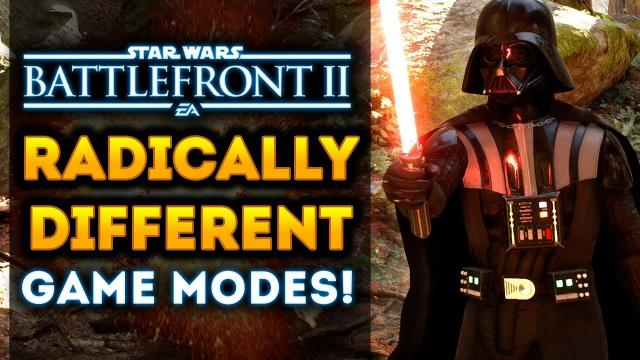 """Radically Different"" Game Modes Coming to Star Wars Battlefront 2 VERY SOON!"