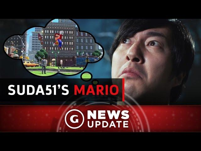 Suda51's Idea For A Mario Game - GS News Update