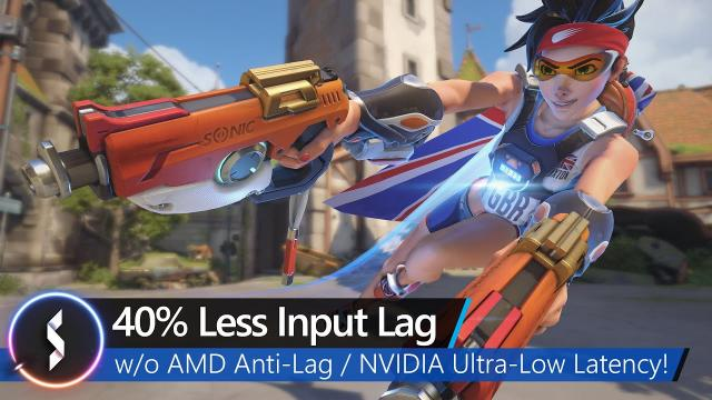 40% Less Input Lag Without AMD Anti-Lag or NVidia Ultra-Low Latency
