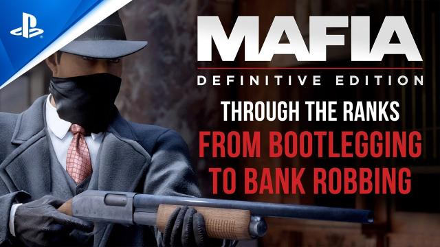 Mafia: Definitive Edition - Gameplay Trailer (Missions) | PS4