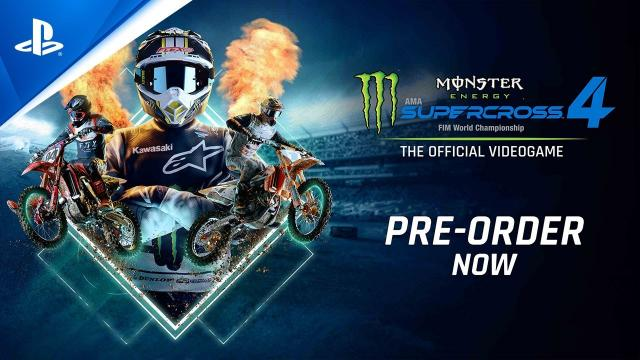 Monster Energy Supercross 4 - Kick Off Trailer | PS5, PS4