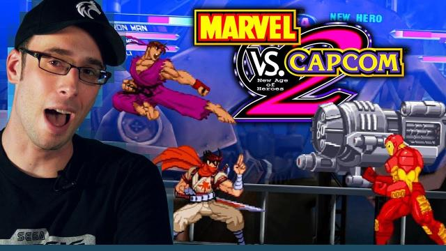 Marvel vs. Capcom 2: New Age of Heroes (PS2 2002) Gonna take you for a ride - The Backlog