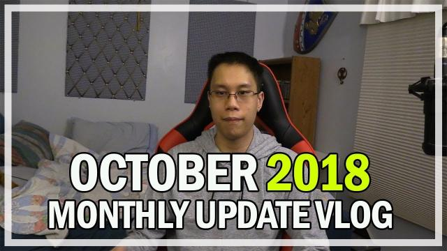OCTOBER 2018 Monthly Game Updates & Events Vlog Jonlaw98