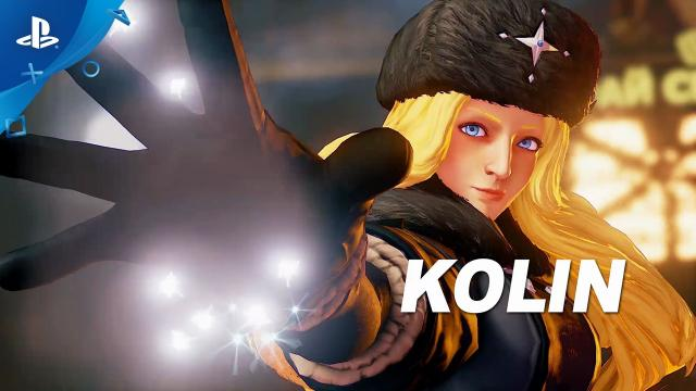Street Fighter V - Kolin Trailer | PS4