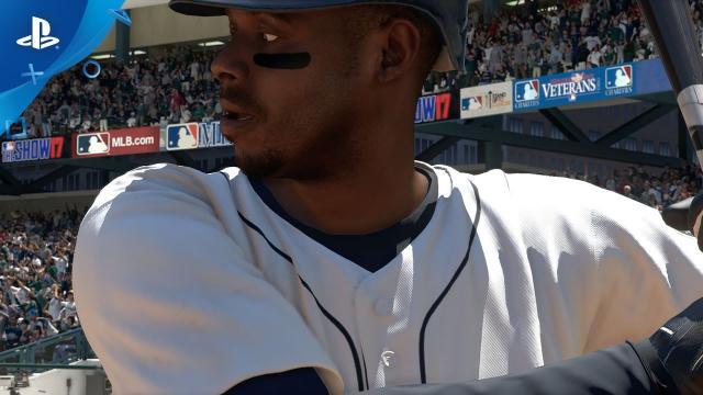 MLB The Show 17 - Ken Griffey Jr. Mocap Video   PS4