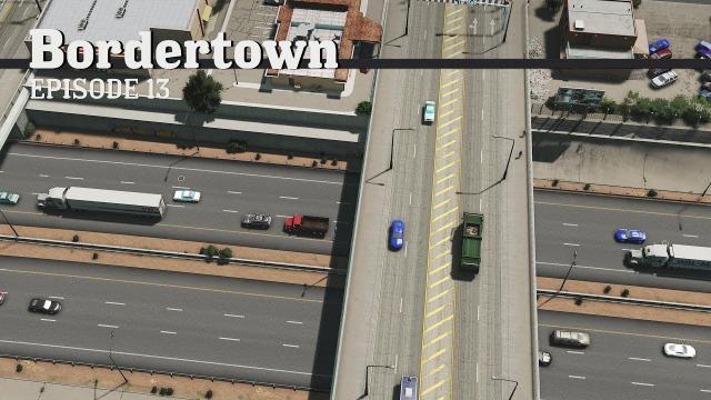 Sunken Highway - Cities Skylines: Bordertown - EP13 -