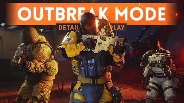 ➤ OUTBREAK MODE GAMEPLAY & DETAILS! - Rainbow Six Siege Zombie Co-Op PvE Mode (Operation Chimera)