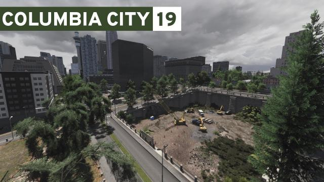 Construction Pit - Cities Skylines: Columbia City #19