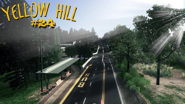 Bus Trip in Yellow Hill - External Route | S2 EP24 | Cities Skylines