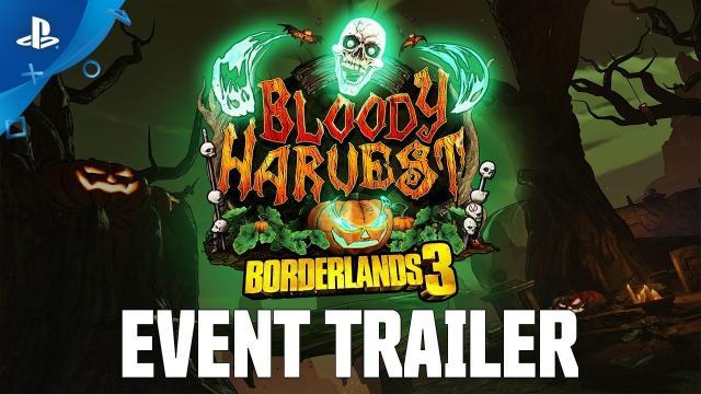 Borderlands 3 – Bloody Harvest Event Trailer | PS4