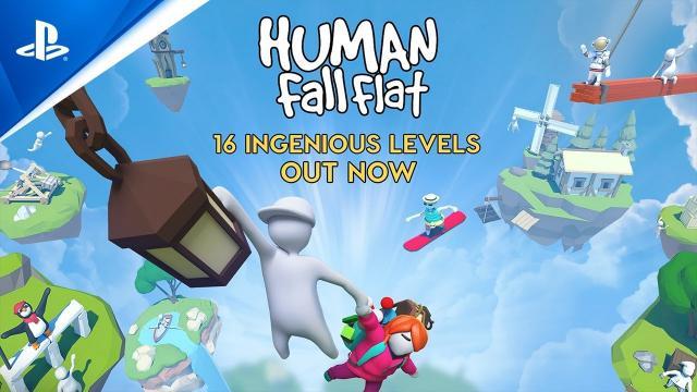 Human: Fall Flat - 16 Amazing Levels | PS4