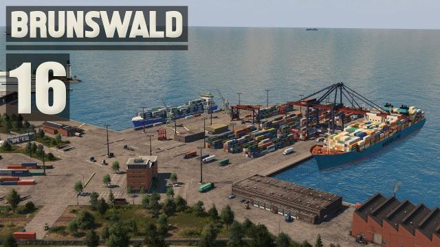 Container Port & Railyard - Cities Skylines: Brunswald - 16