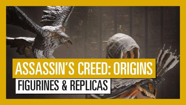 Assassin's Creed Origins - Figurines and replicas launch trailer