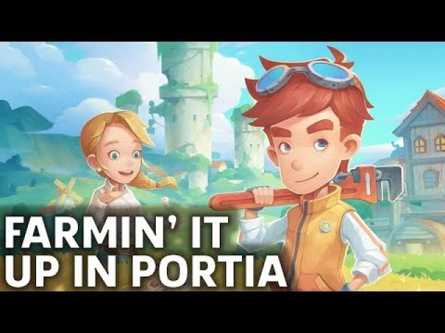 My Time At Portia Your Next Sim Game Obsession?