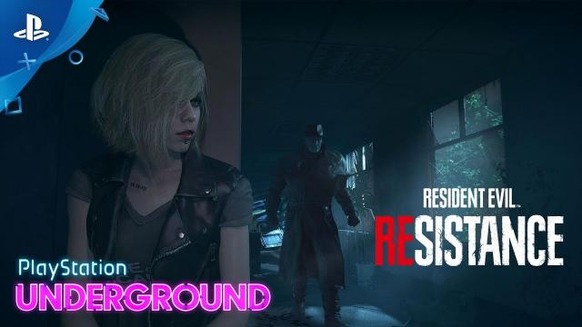 Resident Evil Resistance - 4v1 Gameplay   PlayStation Underground