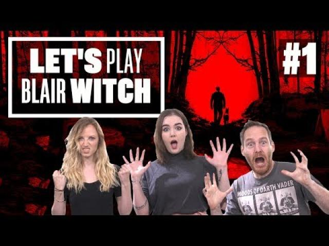 Let's Play Blair Witch Gameplay - PROTECT THE DOG AT ALL COSTS!