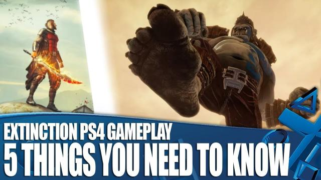 Extinction New PS4 Gameplay - 5 Things You Need To Know