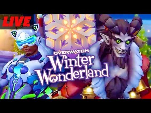 Overwatch Winter Wonderland Event Live!