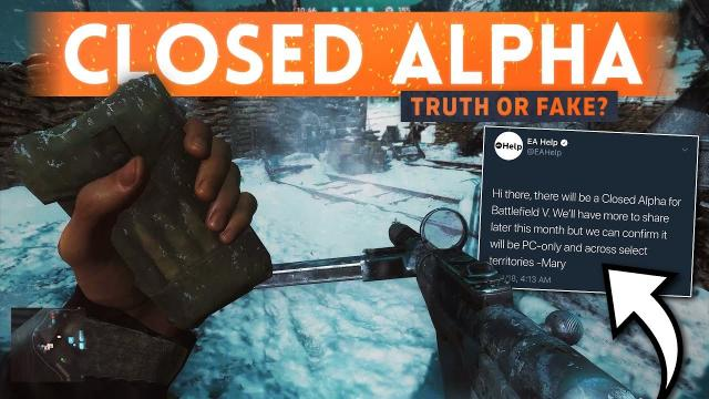 BATTLEFIELD 5 CLOSED ALPHA DETAILS: Real Or Fake? - Everything We Know So Far (BF5 Gameplay)