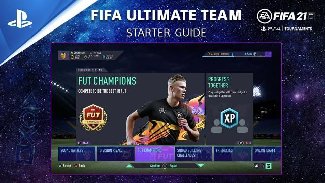 FIFA 21 FUT Guide - How to Start FIFA Ultimate Team | PS Competition Center