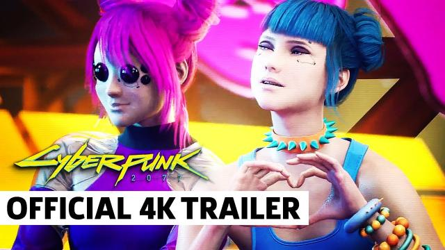 Cyberpunk 2077 — Official Postcards from Night City Trailer