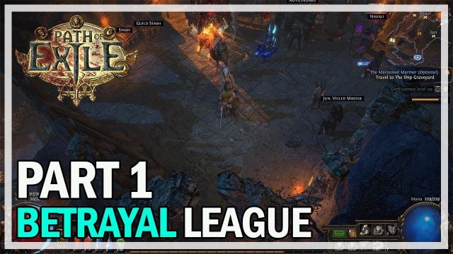 Path of Exile - Betrayal League Let's Play Part 1 - Templar
