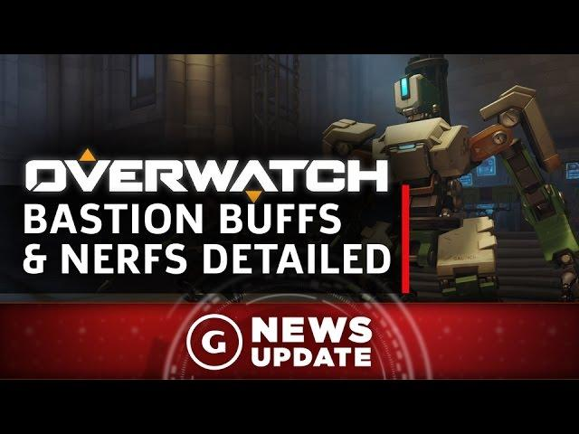 Overwatch's Bastion Changes in PTR Patch Detailed - GS News Update
